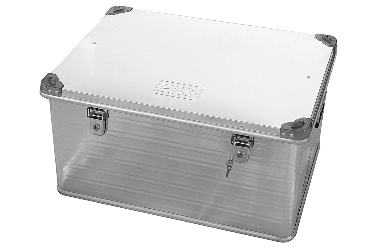 RIF aluminium box reinforced with lock 782х585х412 mm (LxWxH)