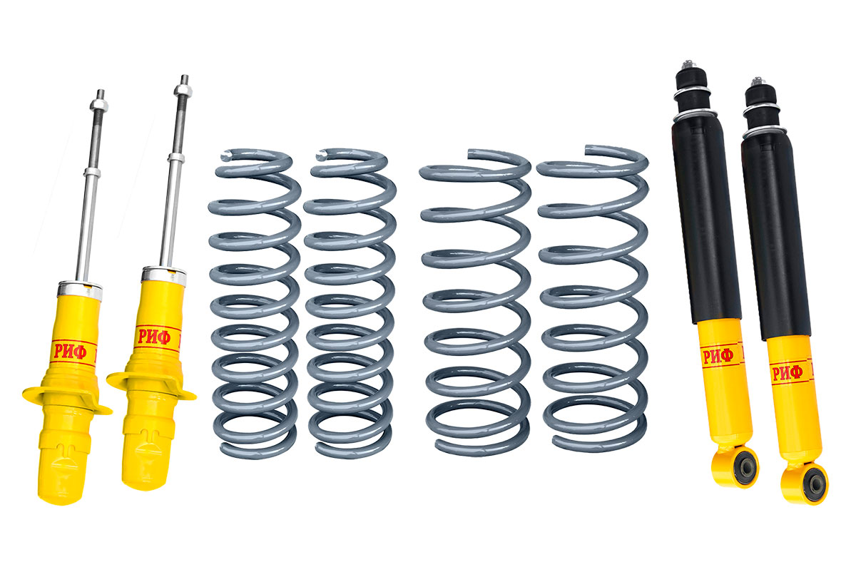 RIF suspension kit for SsangYong Rexton 2 reinforced standard +75 kg (rear depend.axle)