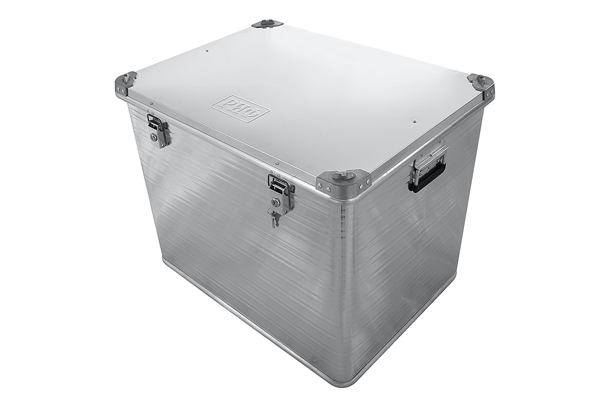 RIF aluminium box reinforced with lock 782х585х622 mm (LxWxH)