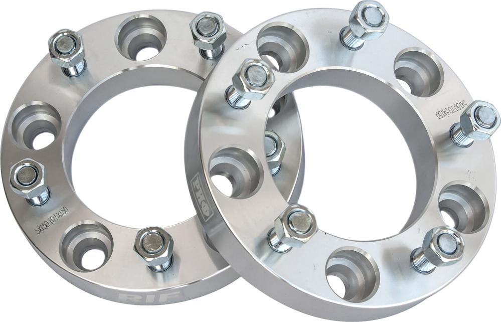 RIF wheel spacers for Toyota LC 100/105 5x150,mid. whole 110 mm, width 30 mm, 14x1.5 (2 pcs)